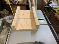 Sleddy, the first crosscut sled I built